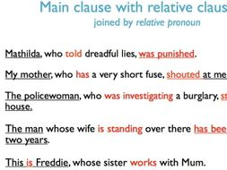 complex sentences with relative clauses by realllanguages teaching