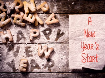 New Year - New Term - New Promises