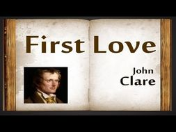 First Love John Clare Poetry Lesson