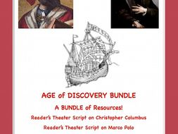 Age of Discovery and Exploration: A Bundle of FOUR  Resources