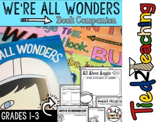 We're All Wonders - Book Companion
