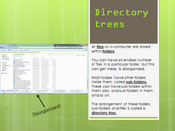 Directory Trees lesson