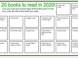 20 Books in 2020 - KS1 & KS2