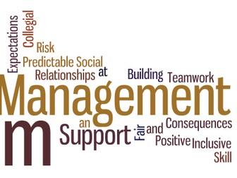 Behaviour Management Training  Powerpoint