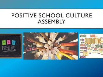 Positive School Culture Assembly