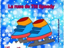 French story with exercises - La ruse de Titi Speedy