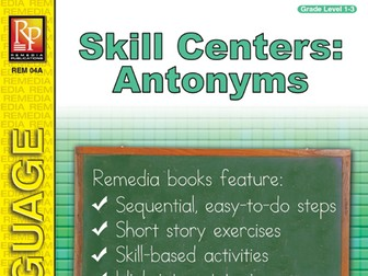 Skill Centers: Antonyms