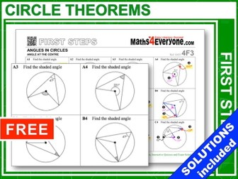 Circle Theorems (First Steps)