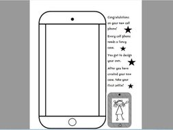 Adorable Cell Phone Activity