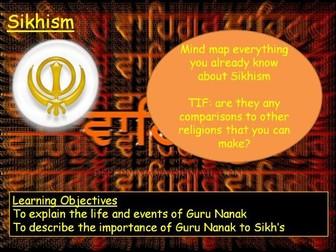 Sikhism Topic KS3