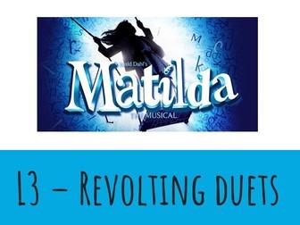 Dance KS3 Musical Theatre: Matilda Lesson 3