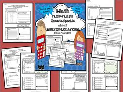 Math Review Mini Flip Flap Book