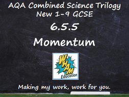 AQA Combined Science Trilogy: 6.5.5 Momentum