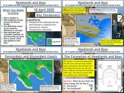 Coasts: Headlands and Bays