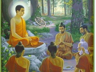 New AQA GCSE RE - Buddhist beliefs - dhamma and the three refuges