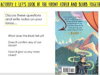 Year 5/6/7: Whole Class Reading - Land of Roar 1 Sequencing/Summary lesson