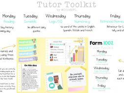Tutor Toolkit (form time activities for year 7-11)