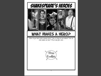 Shakespeare Booklet: Heroes (KS3)