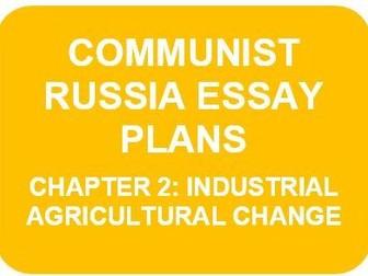 RUSSIA 1917-91 ESSAY PLANS: CH2