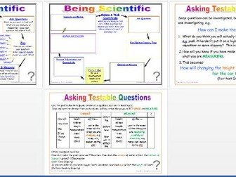 Being Scientific:  Working Scientifically in Enquiry and Investigation - Asking Testable Questions
