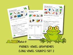 PHONICS: VOWEL GRAPHEMES (LONG VOWEL SOUNDS) SET 2