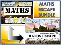 Maths Escape Rooms - Christmas