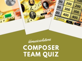 Composer Music Interactive Quiz For Two Teams