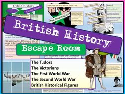History Escape Room - End of Term