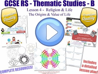 The Origins of Life  [GCSE RS - Religion & Life - L4/10] (Thematic Study B) Scientific and Christian