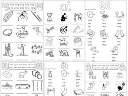 Phase 3 Phonics Pack 2 Teaching Resources