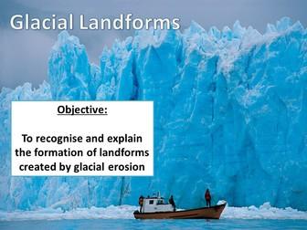Landforms of Glacial Erosion