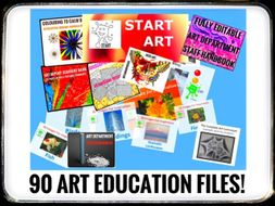 ART. The Complete ART Department. 90 Files!