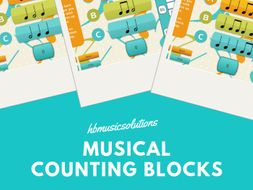 Musical Counting Blocks Basics Interactive Music Activity And Warm Up