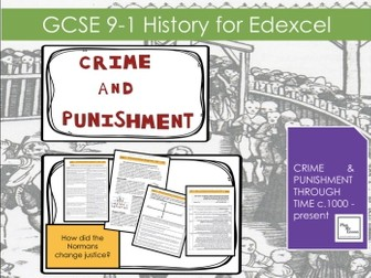 L5 Edexcel 9-1 Crime & Punishment: How did the Normans change justice?