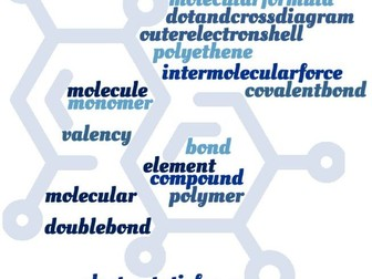 Covalent Bonds & Molecular Compounds Crossword - EDEXCEL GCSE (9-1) Combined Science Paper 3 & 4