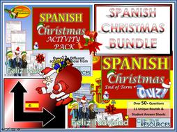 Spanish Christmas Resources MFL