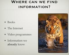 Tigers Report Genre Presentation.pptx