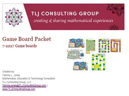 Game Board Packet (7 gameboards)
