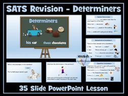 Determiners: SATS Revision