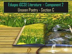 Eduqas iGCSE English Literature - Component 2, Section C, Unseen Poetry