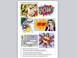 pop art ks2 andy warhol and roy lichtenstein by little primary teacher teaching resources tes. Black Bedroom Furniture Sets. Home Design Ideas