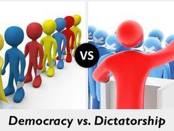 Democracy Vs Dictatorship