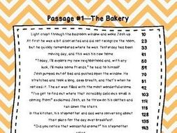 4th Grade Fluency Passages with Comprehension Questions Set A (#1-10 ...