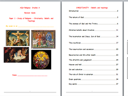 REVISION GUIDES for AQA A RS Christianity and Islam