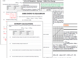 Gibbs Free energy calculations by polarity24 | Teaching Resources