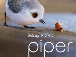 Piper - Pixar Short Film - Differentiated Scaffolded Workbook