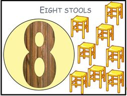 Wooden Things Counting to 10 PPT