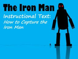 The Iron Man - Example Instructional Text plus Feature Identification and Answers
