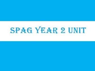 Year 2 SPAG Unit