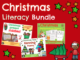 Christmas: Christmas Literacy Activities